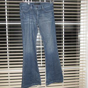 GOLDSIGN Silvie Flare Medium Wash Jeans Size 32